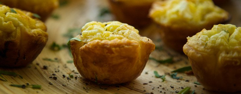 Goat Cheese and Leek Tartlets