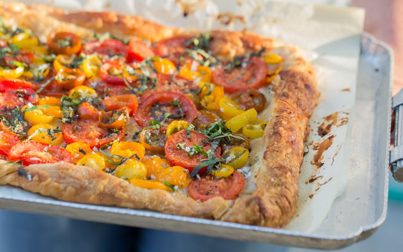Hipcooks Recipe: Tomato Tart