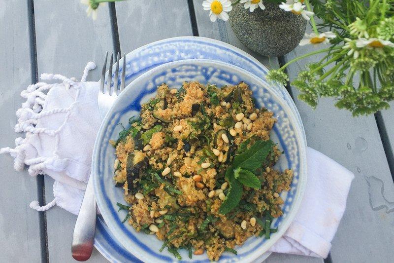 Hipcooks Quinoa Salad Recipe