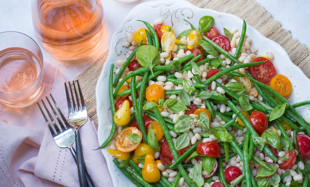 Tomato, White bean & Green Bean Salad Recipe