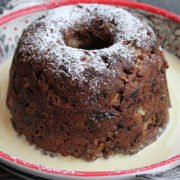 12 days of Hipcooks Recipe: English steamed pudding