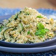 Zucchini, Mint & Quinoa Salad