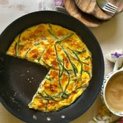 Ham and asparagus frittata recipe