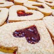 Raspberry Jam-Filled Heart Cookies Recipe