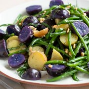 Warm Potato & Green Bean Salad Recipe
