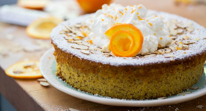 Hipcooks Orange & Almond Cake