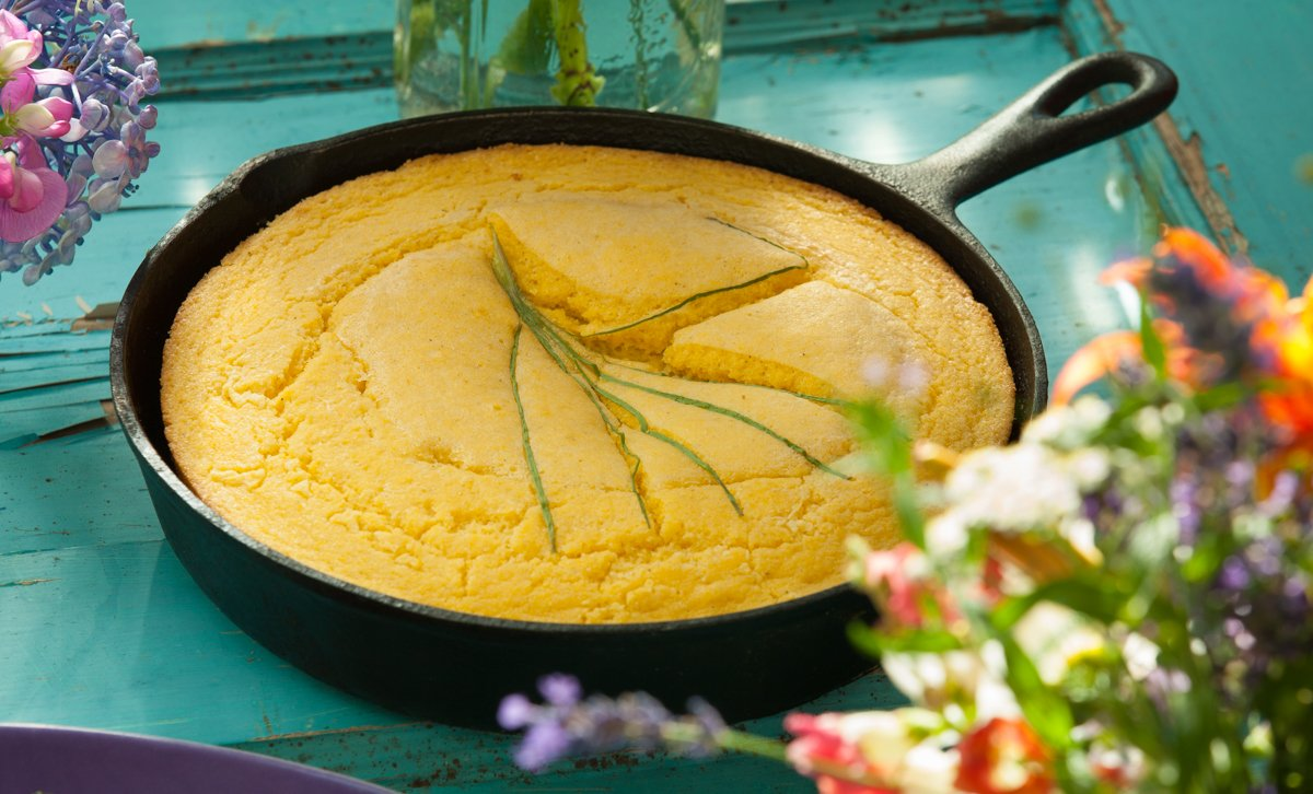 NaiNain's Sweet Corn Bread Recipe