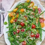 Green bean, white bean & tomato salad