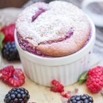 Very berry soufflé