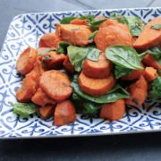 sweet potato and spinach Recipe