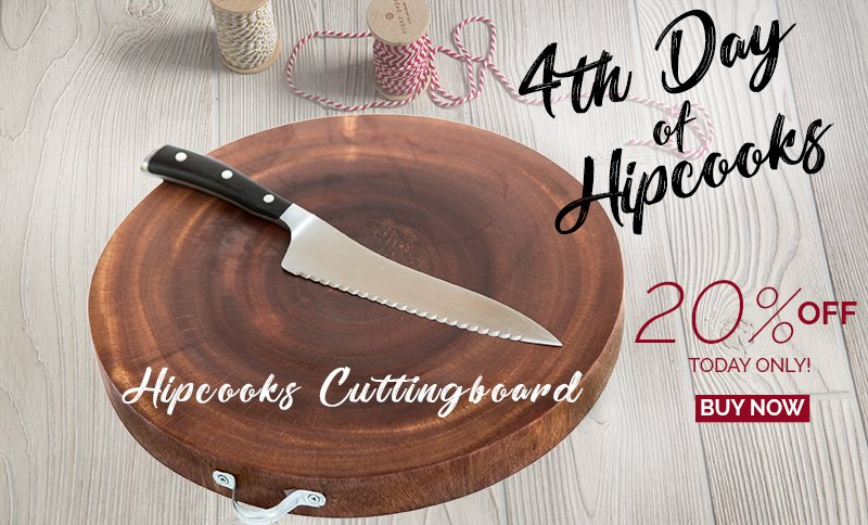 Hipcooks Cutting Board Deal: 20% off, Today only