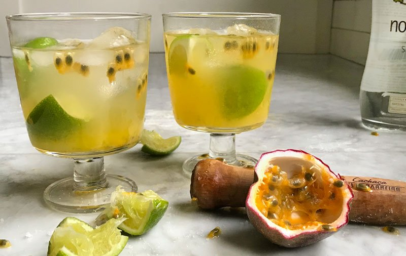 Hipcooks Passion Fruit Caipirinha Recipe