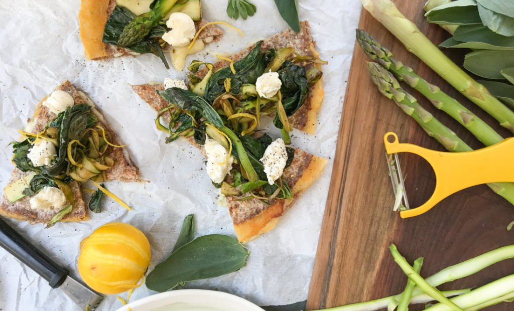 Hipcooks Spring pizza