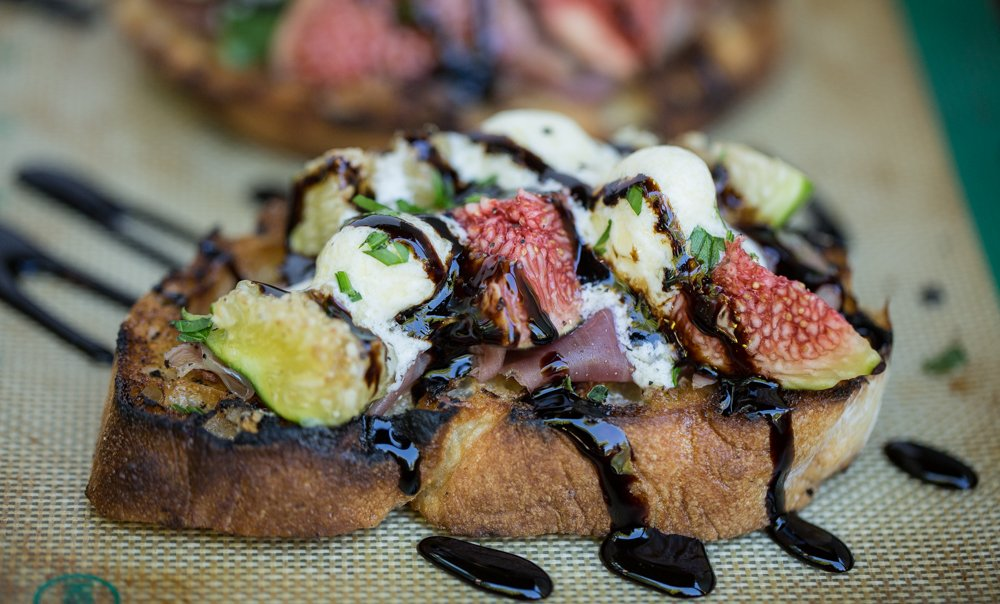 Fig Brushetta Recipe by Hipcooks