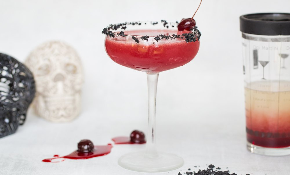 Halloween Recipe: Blood-red Cherry Margarita