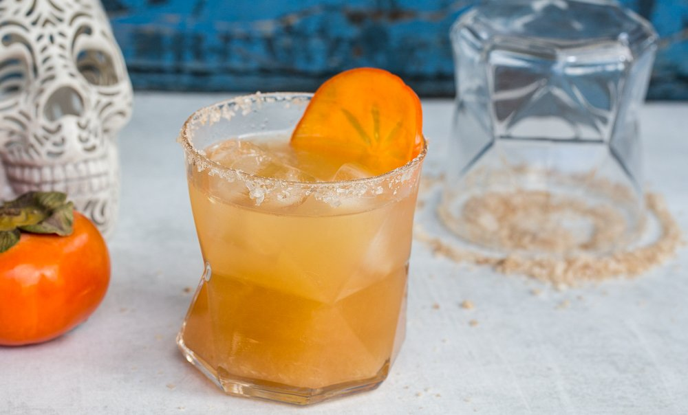 Persimmon Margarita Recipe by Hipcooks