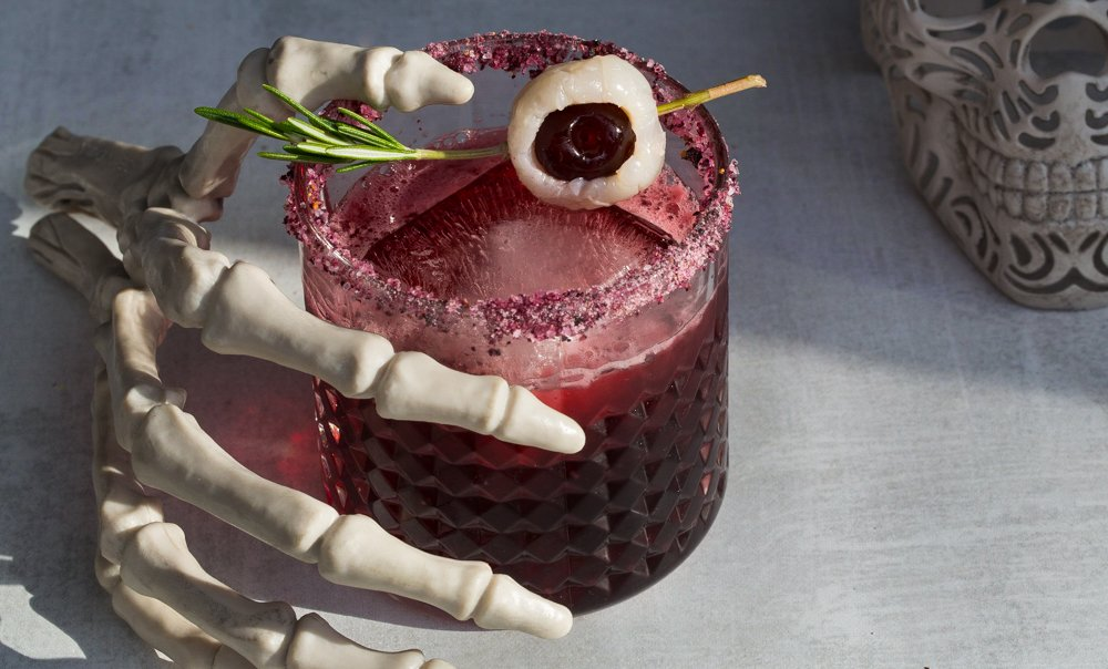 Spooky eyeball Hibiscus Margarita Recipe