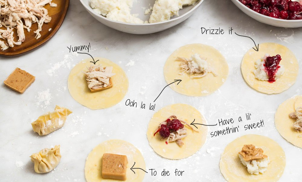 Put these ingredients into your dumplings after Thanksgiving