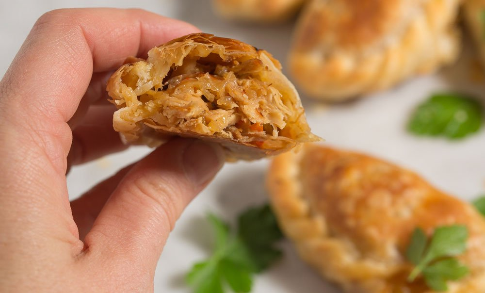 How to make Thanksgiving left-overs Empanadas