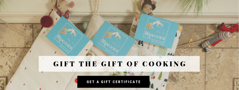 Great Christmas Gifts. Hipcooks Gift Certificates