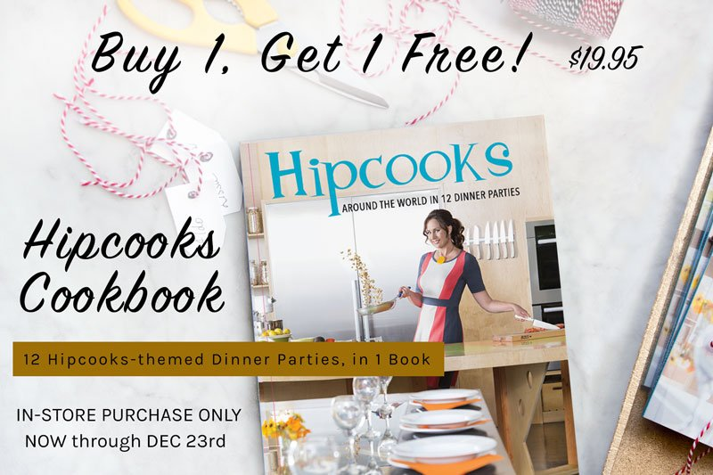 Hipcooks Cook Book Sale December 2018