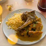 How to make Lamb stewed with Quince & Honey