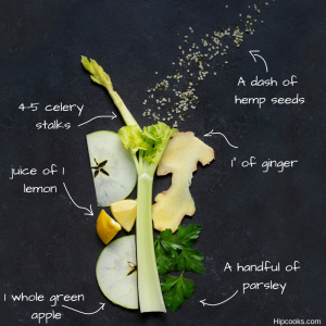 """Cold-buster"" green smoothie"