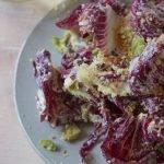 Wintery radicchio salad