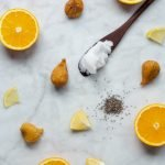 Orange, fig & coconut smoothie