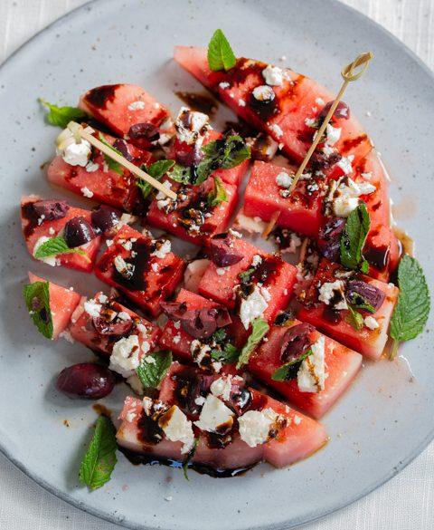 Watermelon appetizer
