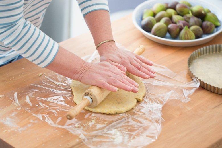 Polenta Pie Crust