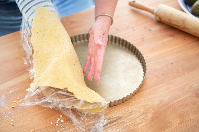 How to make a Polenta Pie Crust