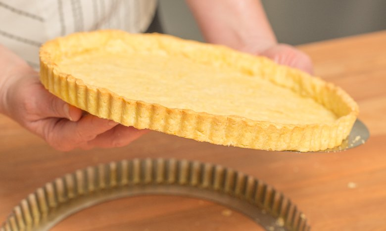The Perfect sweet pastry crust should look like this