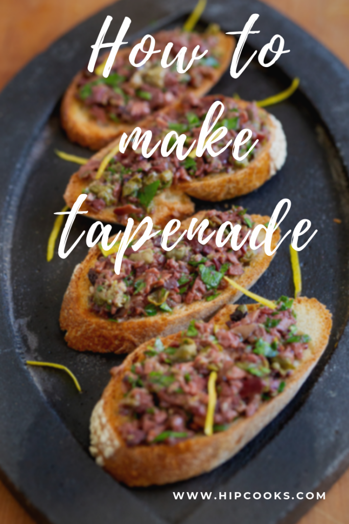 How to make tapenade