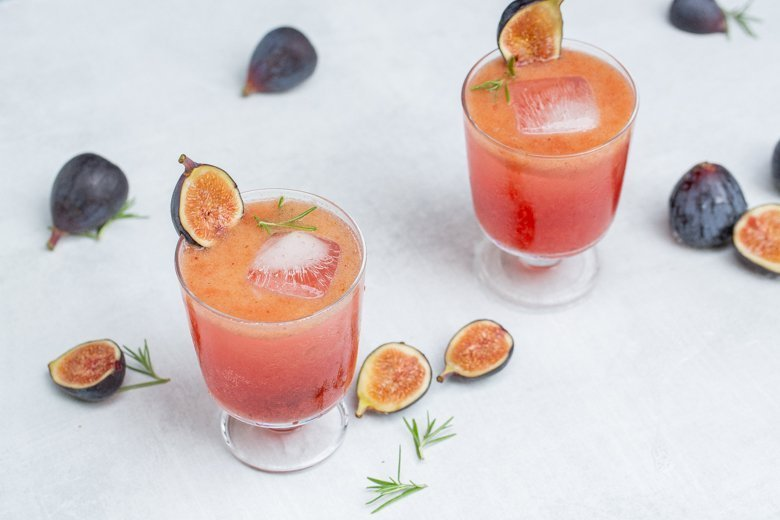 Fig smash - end of summer cocktail