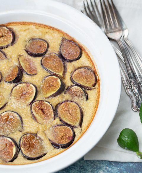 Fig clafoutis recipe thumbnail
