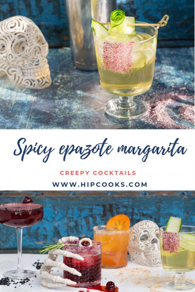 Hipcooks Spicy Epazote Margarita