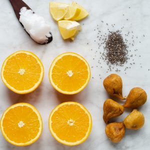How to make Orange, Fig & Coconut Smoothie