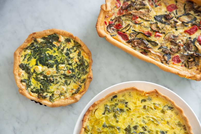 How to make any kind of quiche