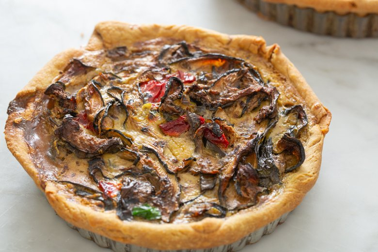 How to make the best veggie quiche
