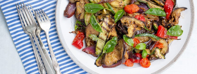 It's all Greek to Me!: Best grilled veggie salad