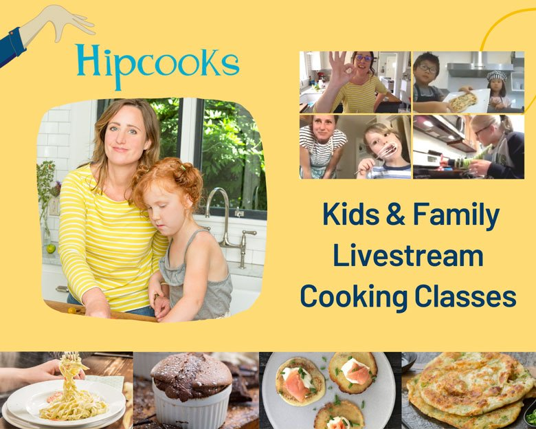 Private Livestream Cooking Classes with Hipcooks